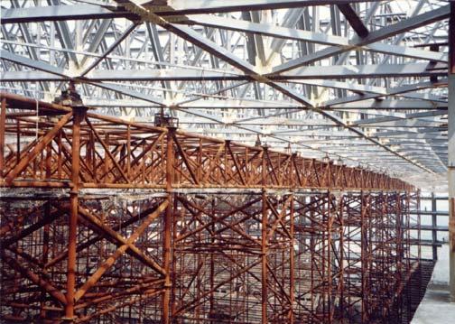 大跨度空间钢结构施工技术