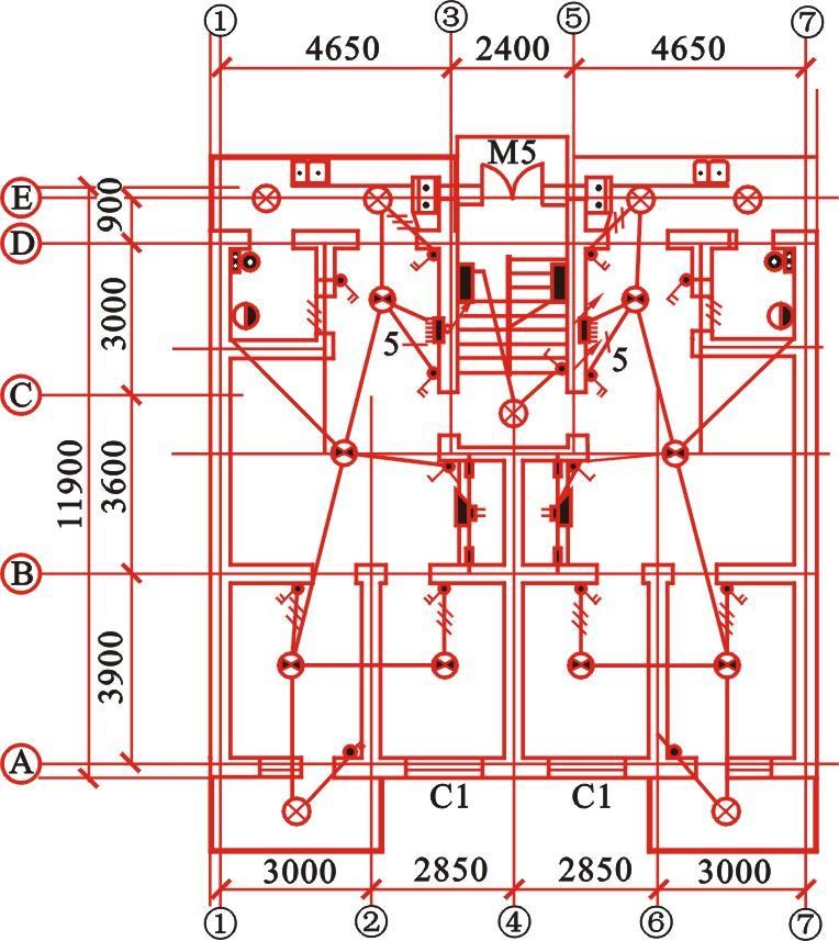 cn 建筑的承重结构体系分类  (1)墙承重结构 用墙体来承受由屋顶,楼板