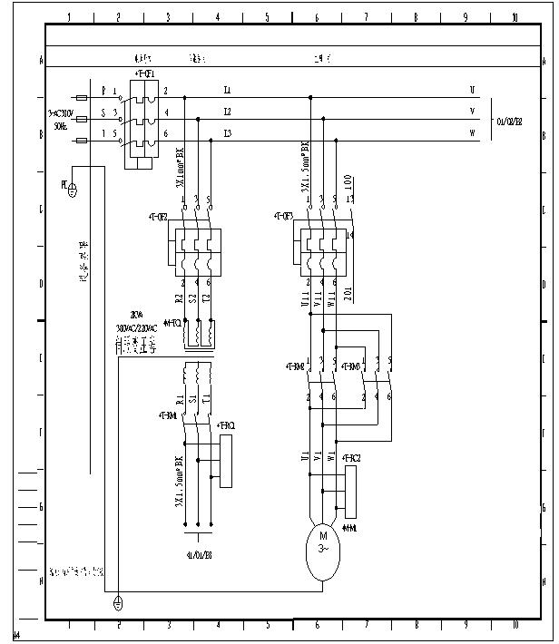 互锁电路图编程