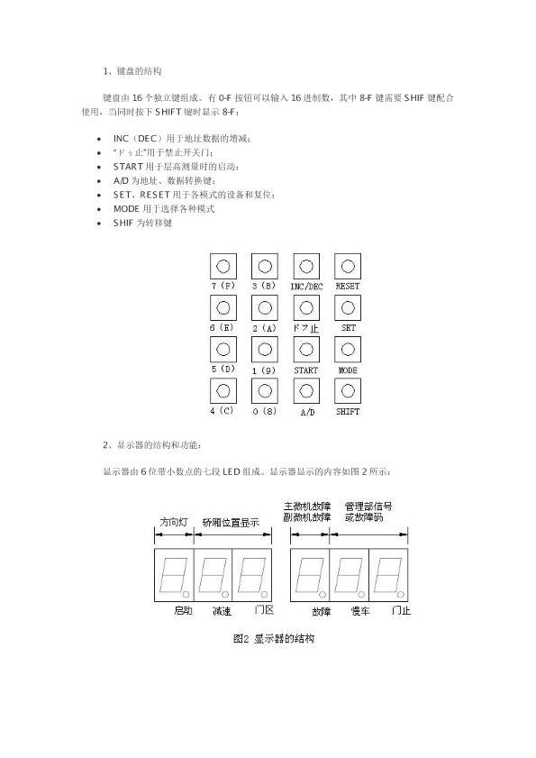 日立电梯培训资料1