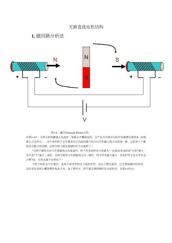 无刷直流电机结构